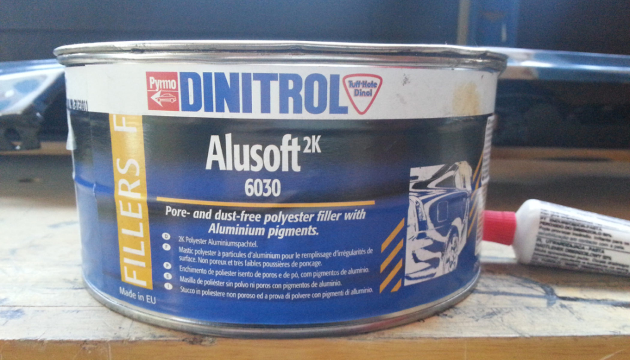 REVIEW: Dinitrol 6030 Metalised Body Filler - The Frost Hub