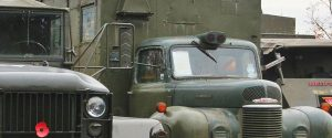 Military Vehicles Day Brooklands
