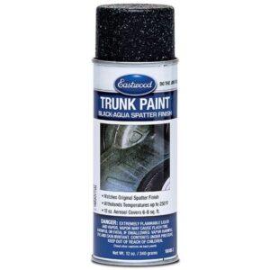 Eastwood Trunk / Boot Paint Black and Aqua Aerosol (340g)