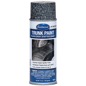Eastwood Trunk / Boot Paint Black and Grey Aerosol (340g)