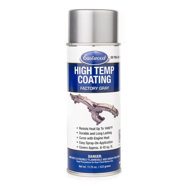 Eastwood Factory Grey High Temperature Paint Aerosol (333g)
