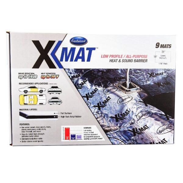 Eastwood X-mat Low Profile Sound Deadener Material Kit (9 Piece)