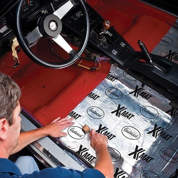 Eastwood X-mat Low Profile Sound Deadener Material Kit