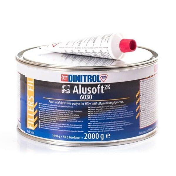 B250 Dinitrol 6030 Metalised Body Filler (2 kg)