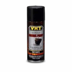 VHT Satin Black Barrel Paint Aerosol for Motorcycle Engines (310ml)-0
