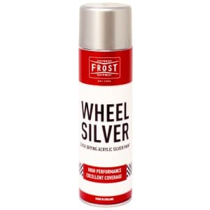 Silver Wheel Paint Aerosol (500ml)