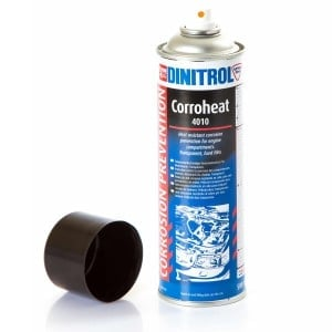 Dinitrol Corroheat 4010 Clear High Temperature Wax Laquer (500ml)