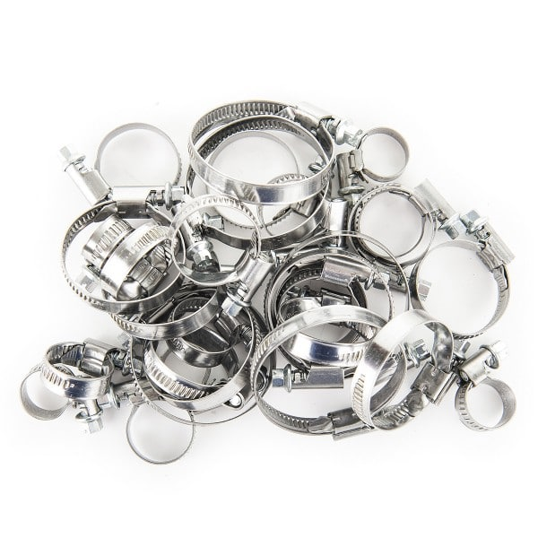 Stainless Steel Hose Clamps (50)
