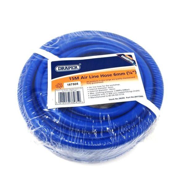Draper PVC Reinforced Air Hose