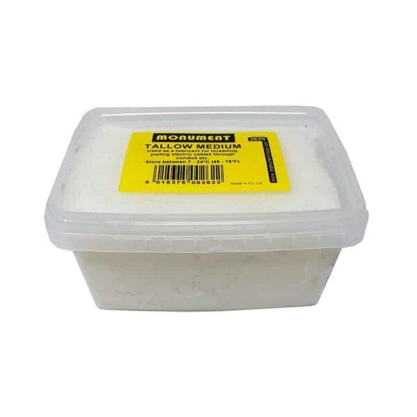 White Tallow Tub for Body Soldering (500g)