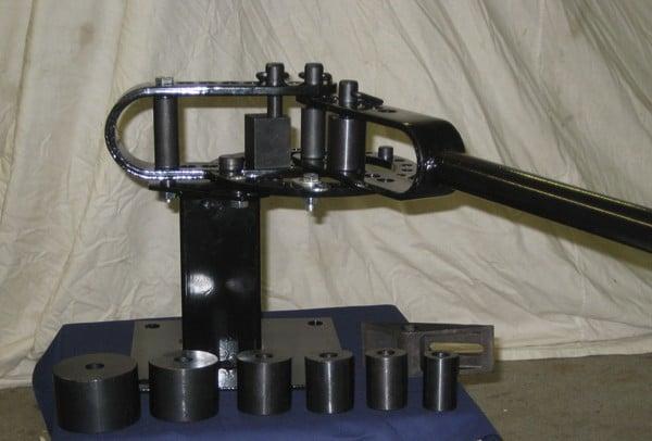 Bench Mounted Metal Bender