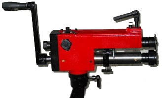 Bench Clamp Mounted Swage Machine (Inc. jenny, wiring and swaging wheels)