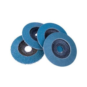 Set of 3 115mm Flap Discs
