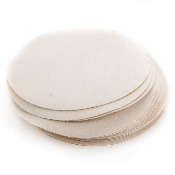 180 Grit Assorted Hook & Loop / Velcro Sanding Discs (Pack of 20)