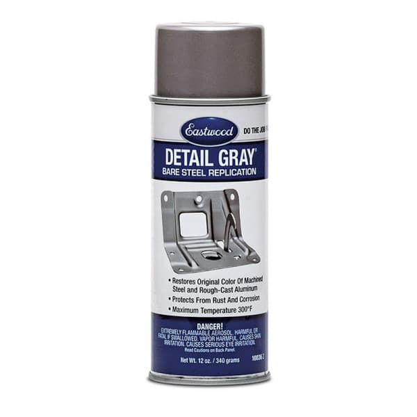 Eastwood Detail Gray Paint Aerosol (368g) Grey