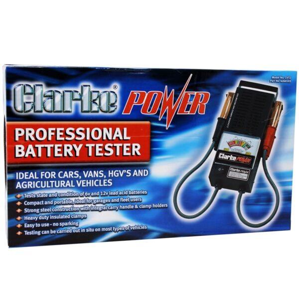 Clarke Battery Power Tester
