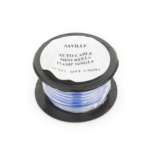 Blue 17amp Cable (3.5 metres)