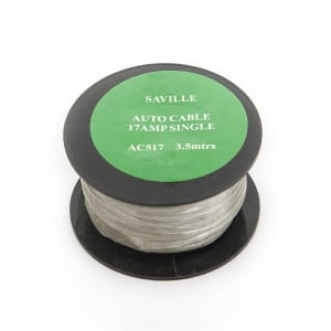 Grey 17amp Cable (3.5 metres)