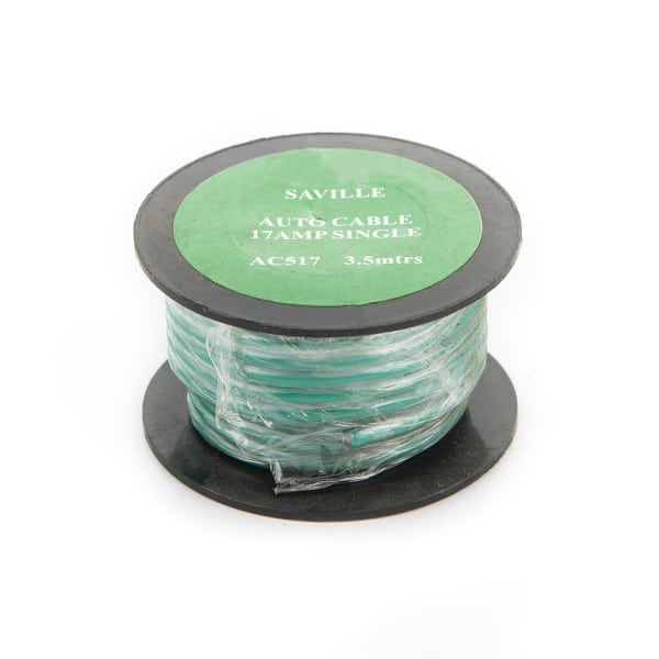 Green 9amp Cable (6 metres)