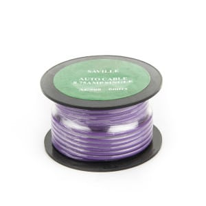 Purple 9amp Cable (6 metres)