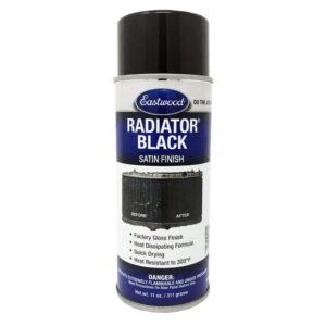 Eastwood Radiator Black Satin Black Aerosol