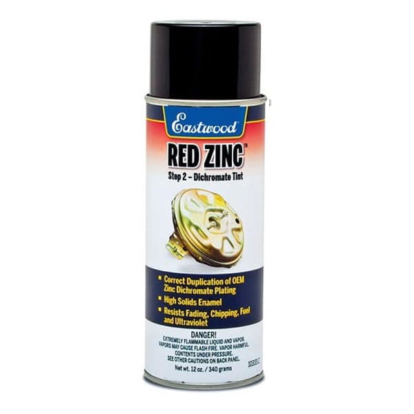 Eastwood Red Zinc Aerosol for Golden Cad System (340g)