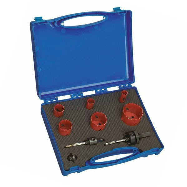 Hole Saw Set for Frost Pipe or Tube Notcher - Tubing Notcher
