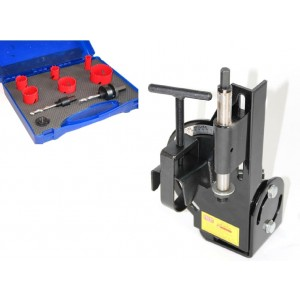 Tubing Notcher & Hole Saw Set Combo