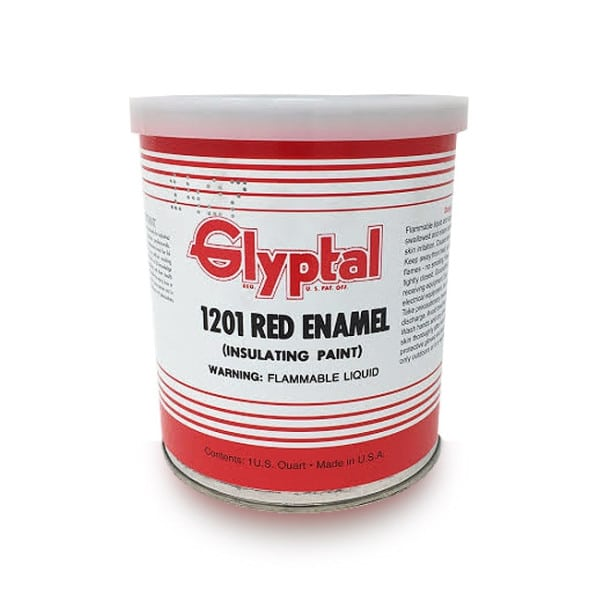 Glyptal Red Enamel Paint