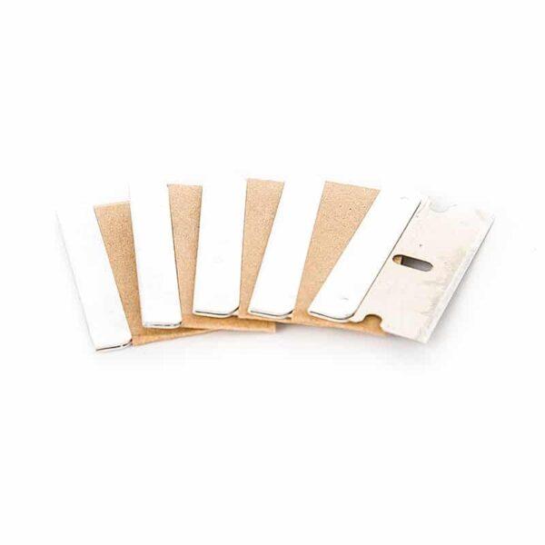 5 Razor Blades (95mm x 50mm)