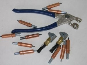 Temporary Sheet Metal Fastener Kit