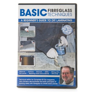 Basic Fibreglass Techniques DVD