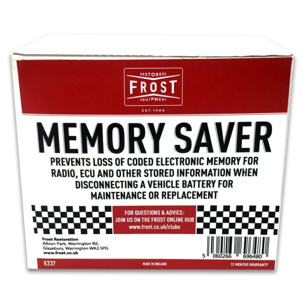 Frost Electronic Memory Saver