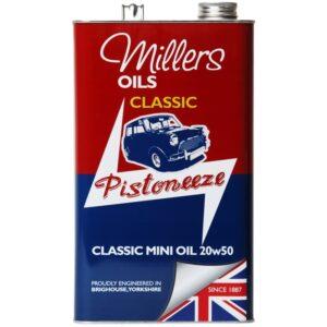 Millers Oils Pistoneeze Classic Mini Oil 20w50 (5L)