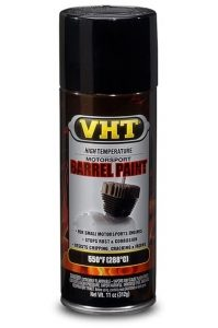 VHT Satin Black Barrel Paint Aerosol for Motorcycle Engines (310ml)-0