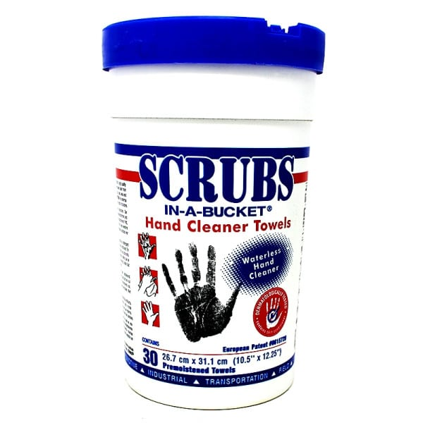 Scrubs Hand Sanitiser Wipes - Cleaner Towels