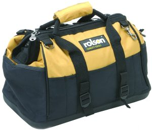 Rolson Hard Base Tool Bag with Organiser