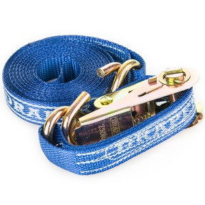 Pair of Ratchet Tie Down Straps (4.5m)