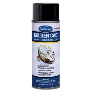 Eastwood Golden Cad Base Coat Aerosol (340g)-0