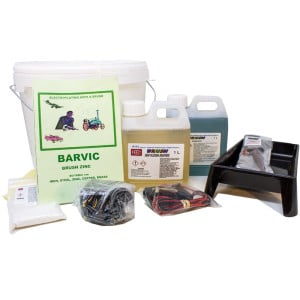 Brush-on Zinc Plating Kit