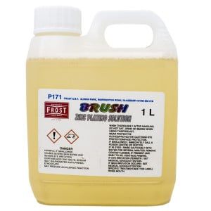 Brush Zinc Solution (1 litre) for Brush-on Zinc Plating kit.