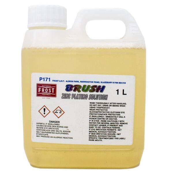 Brush Zinc Solution (1 litre) for Brush-on Zinc Plating kit.