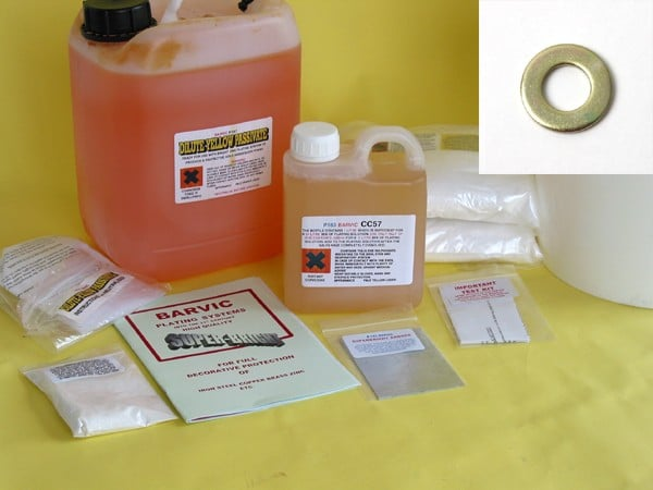 Yellow Passivate Plating - Electroplating Module (10 litres)