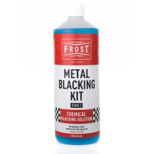 Blacking Solution for Metal Blacking Kit (Blue, 1 litre)