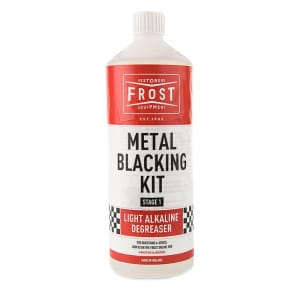 Alkaline Cleaner for Metal Blacking Kit (Clear, 1 litre)