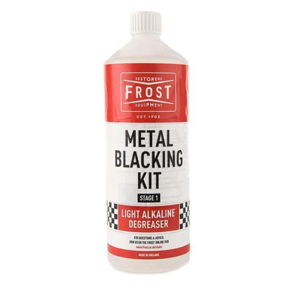 Alkaline Cleaner for Metal Blacking Kit (Clear, 1 litre)