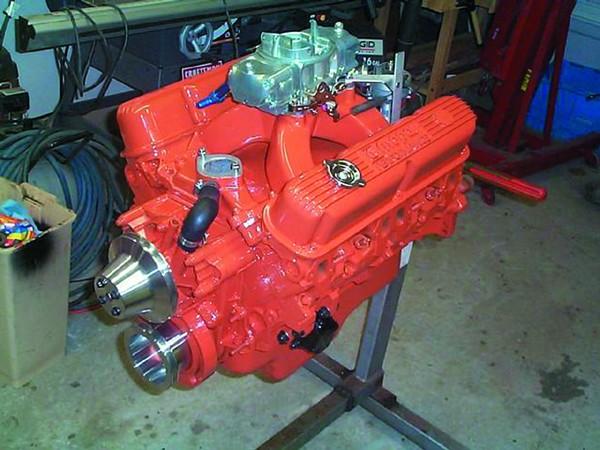 POR 15 Engine Enamel Finish