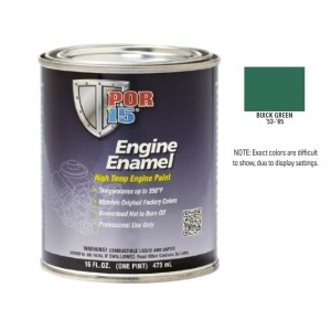 POR15 Buick Green Engine Enamel Paint (473ml)-0