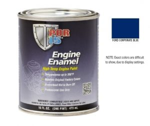 POR15 Ford Corporate Blue Engine Enamel Paint (473ml)-0