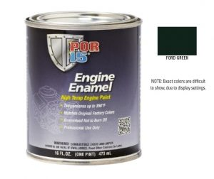 POR15 Ford Green Engine Enamel Paint (473ml)-0